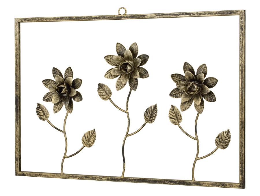 ramka trzy-kwiaty