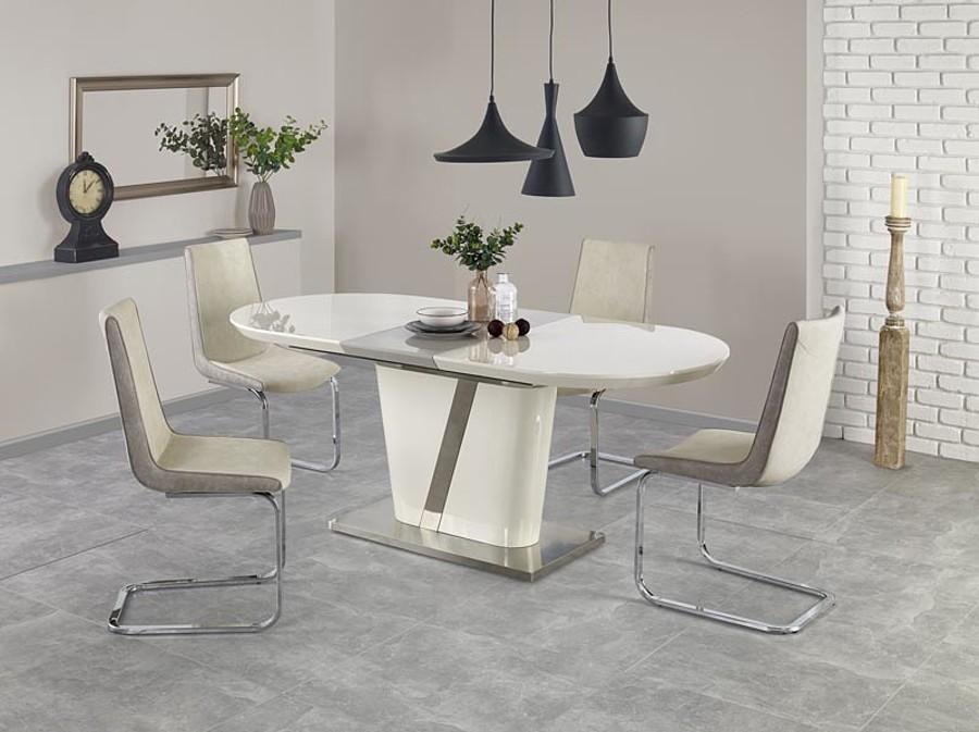 Stół kremowy